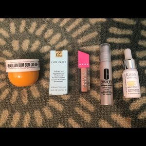 High-End Beauty Bundle 5 Samples + Extras